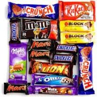 Chocolatinas Consumibles Vending